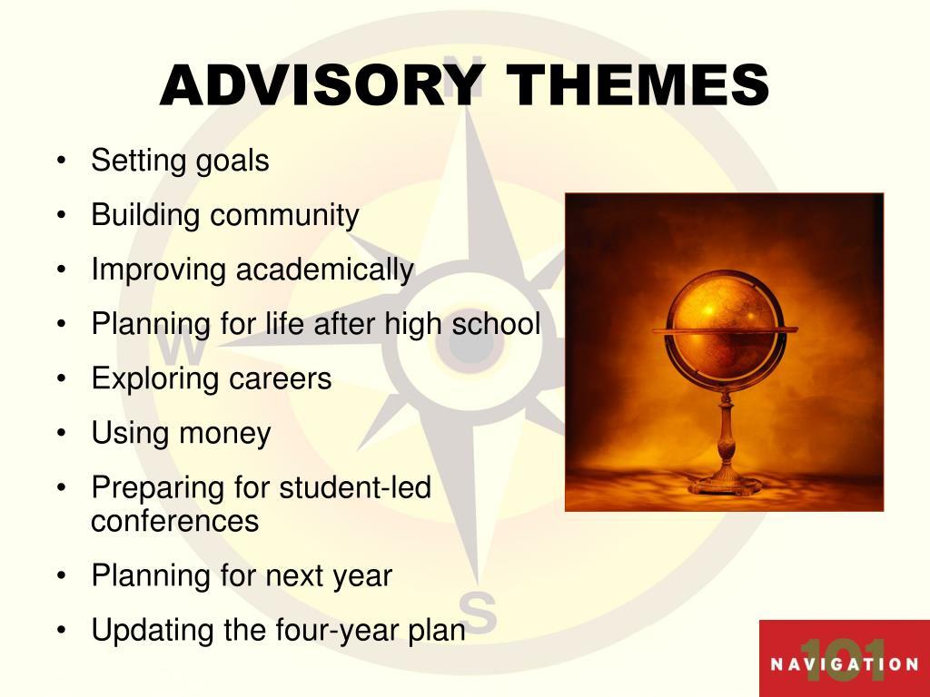 ADVISORY THEMES