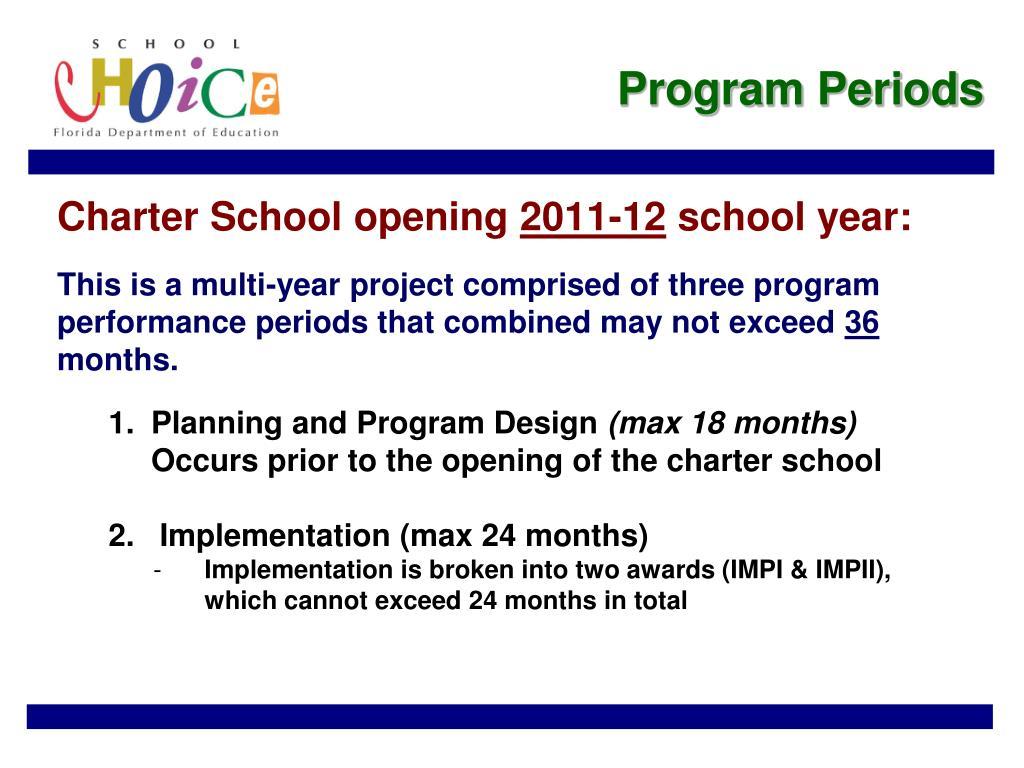 Program Periods
