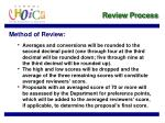 review process22