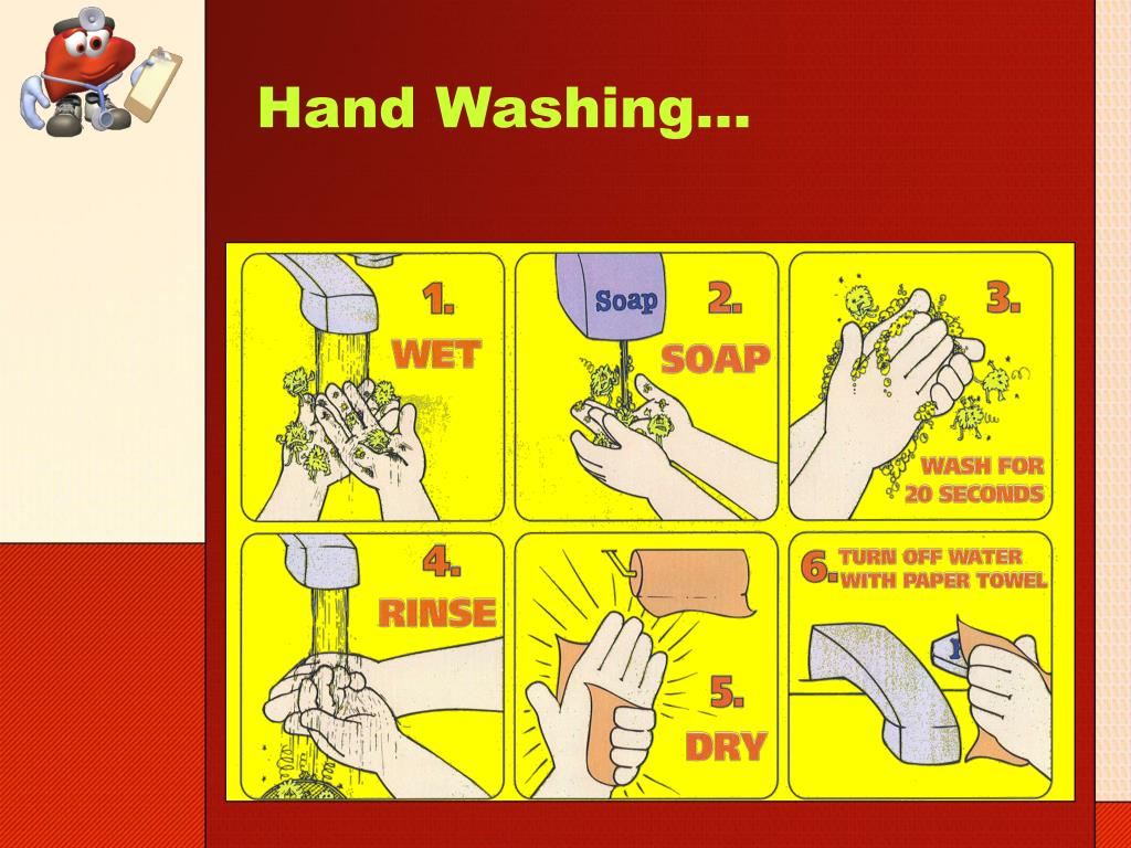 Hand Washing…