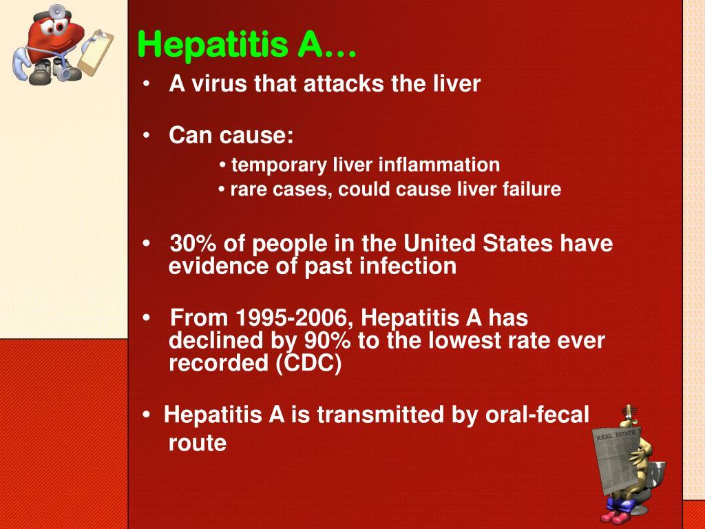 Hepatitis A…