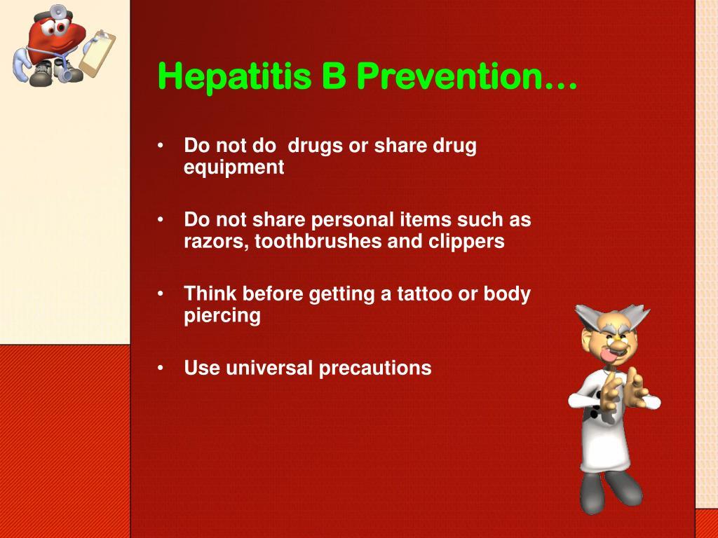 Hepatitis B Prevention…