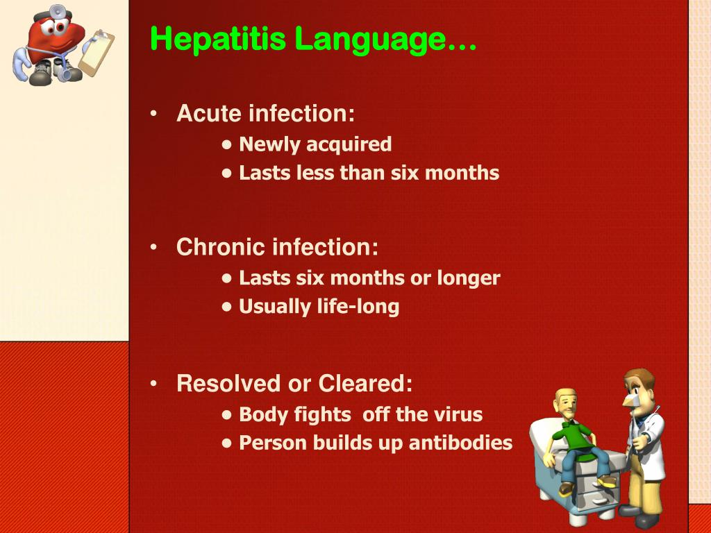 Hepatitis Language…