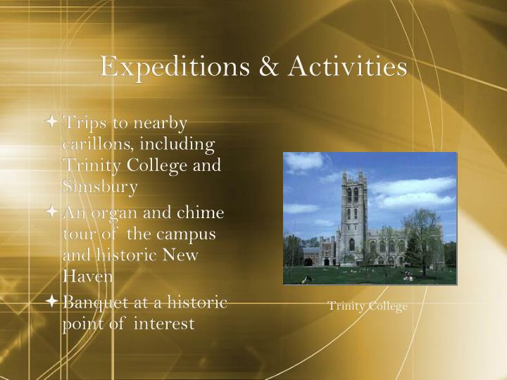 Expeditions & Activities