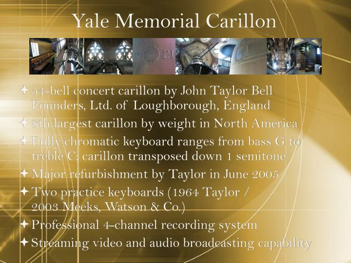 Yale Memorial Carillon