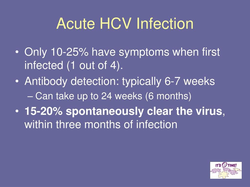 Acute HCV Infection