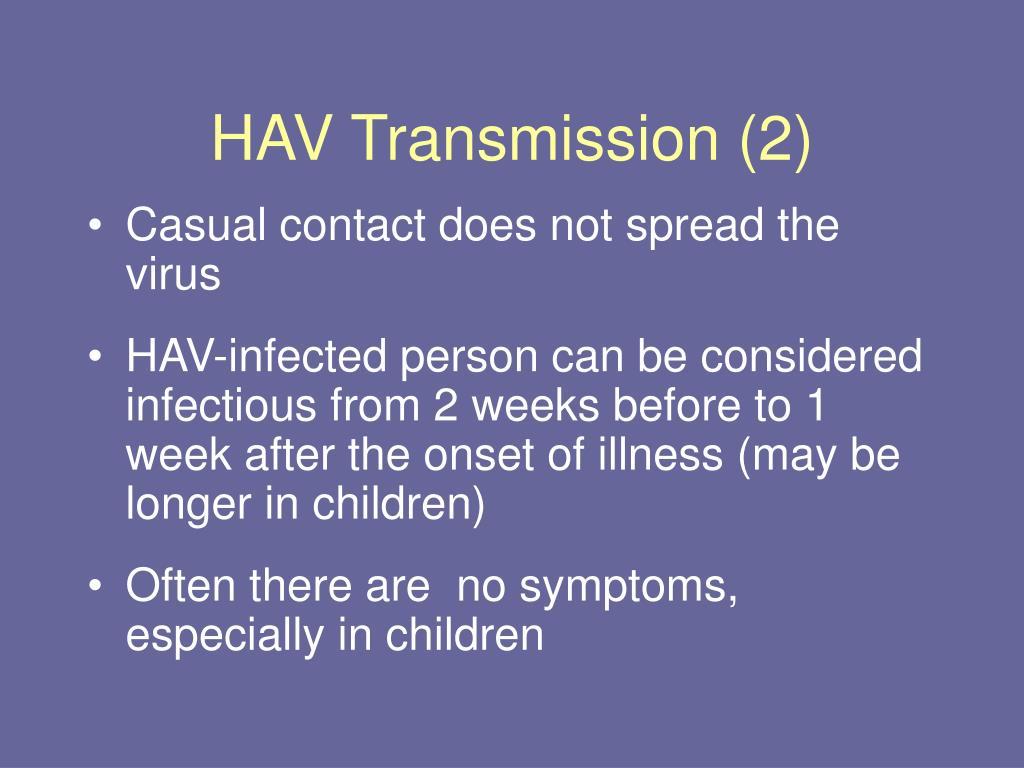 HAV Transmission (2)