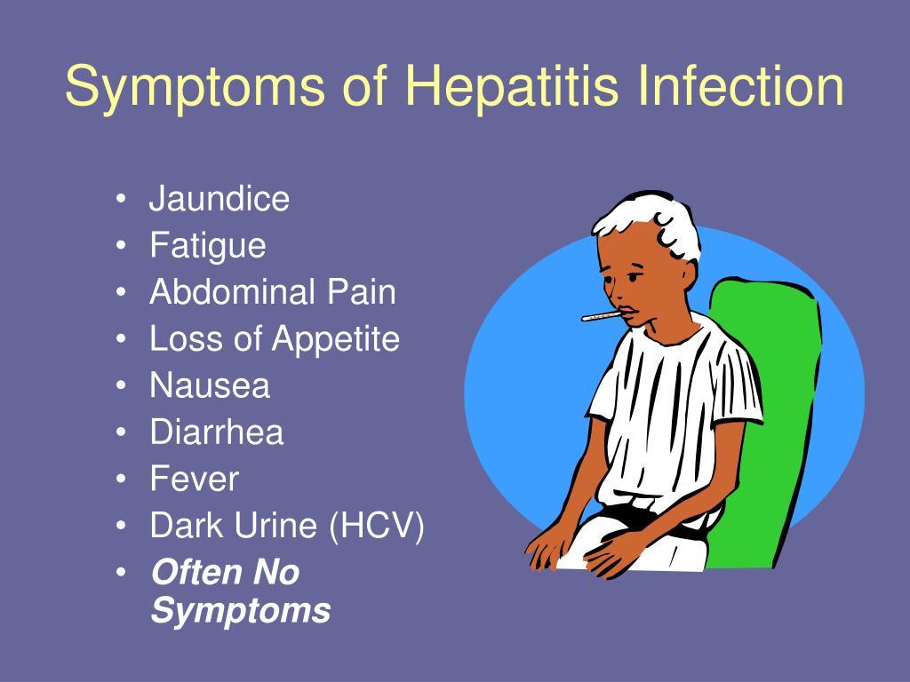 Symptoms of Hepatitis Infection