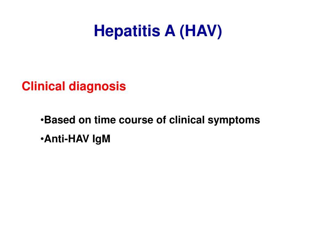 Hepatitis A (HAV)