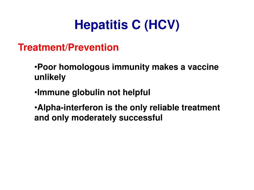 Hepatitis C (HCV)