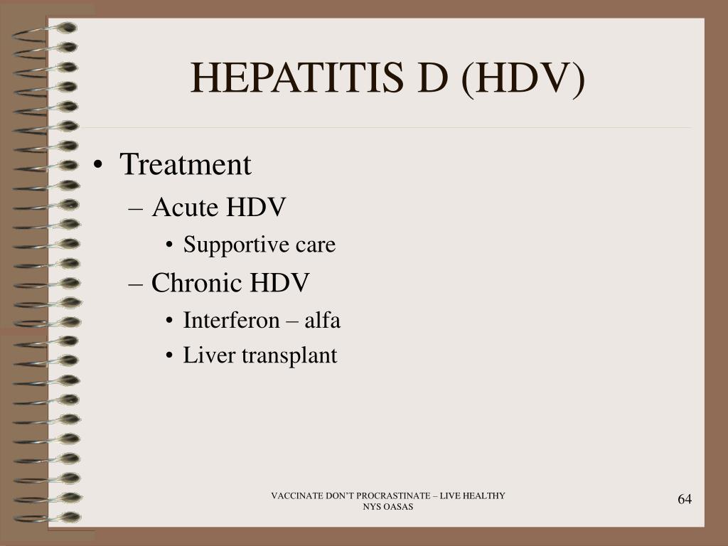 HEPATITIS D (HDV)