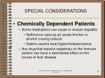 special considerations83