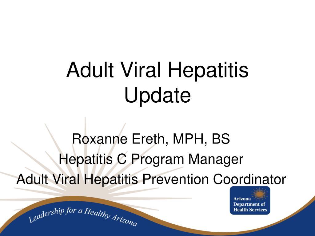 Adult Viral Hepatitis