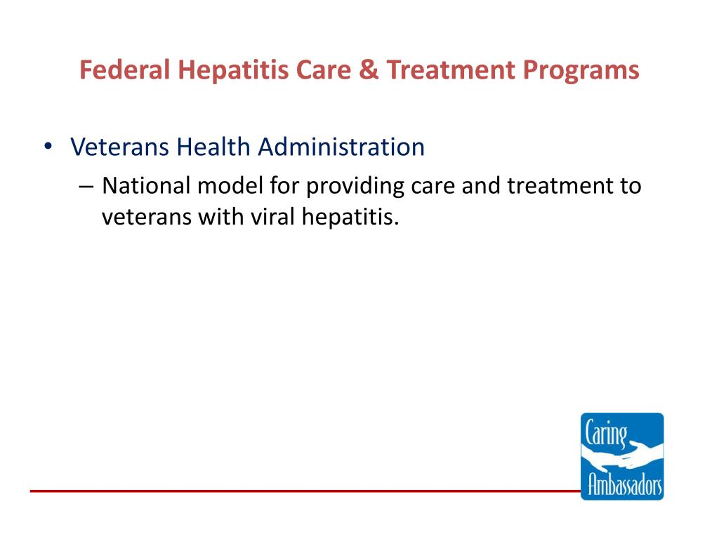 Federal Hepatitis Care & Treatment Programs