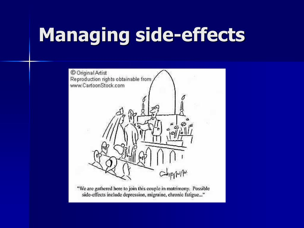 Managing side-effects