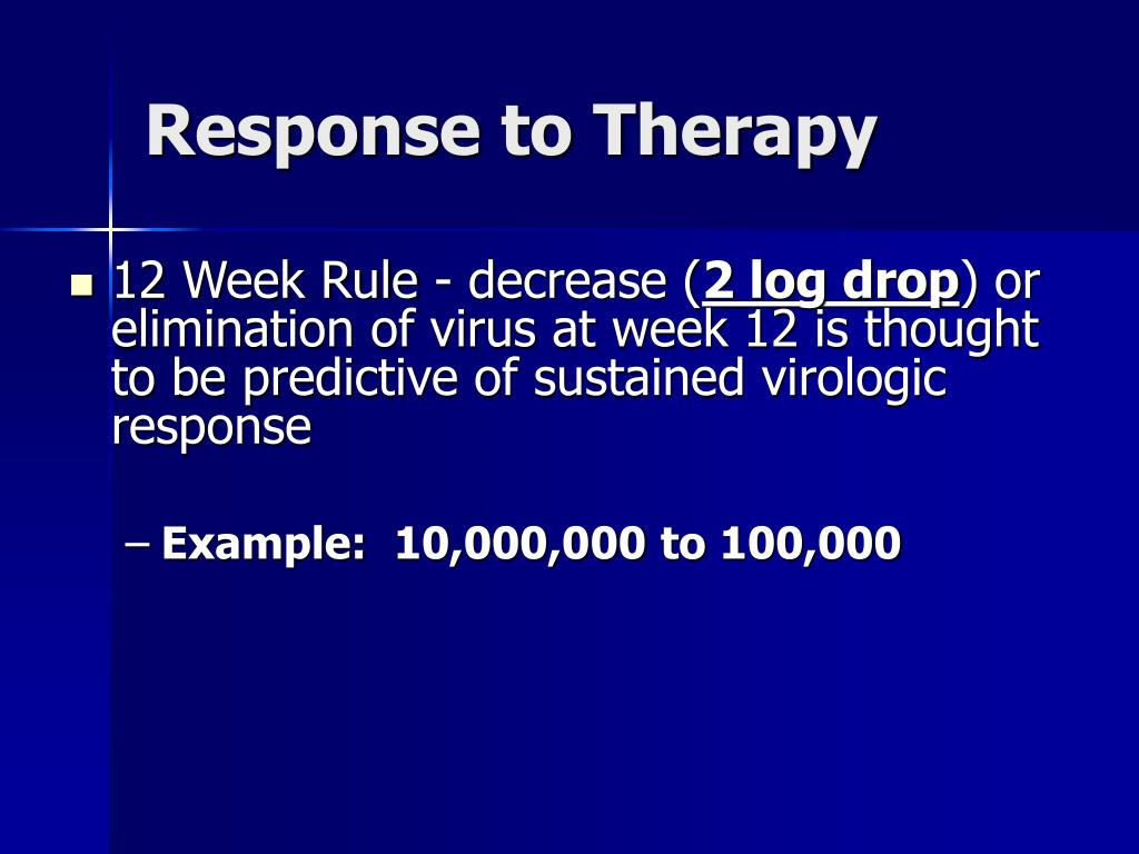 Response to Therapy