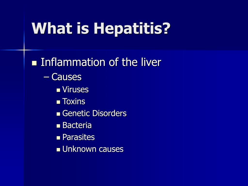 What is Hepatitis?