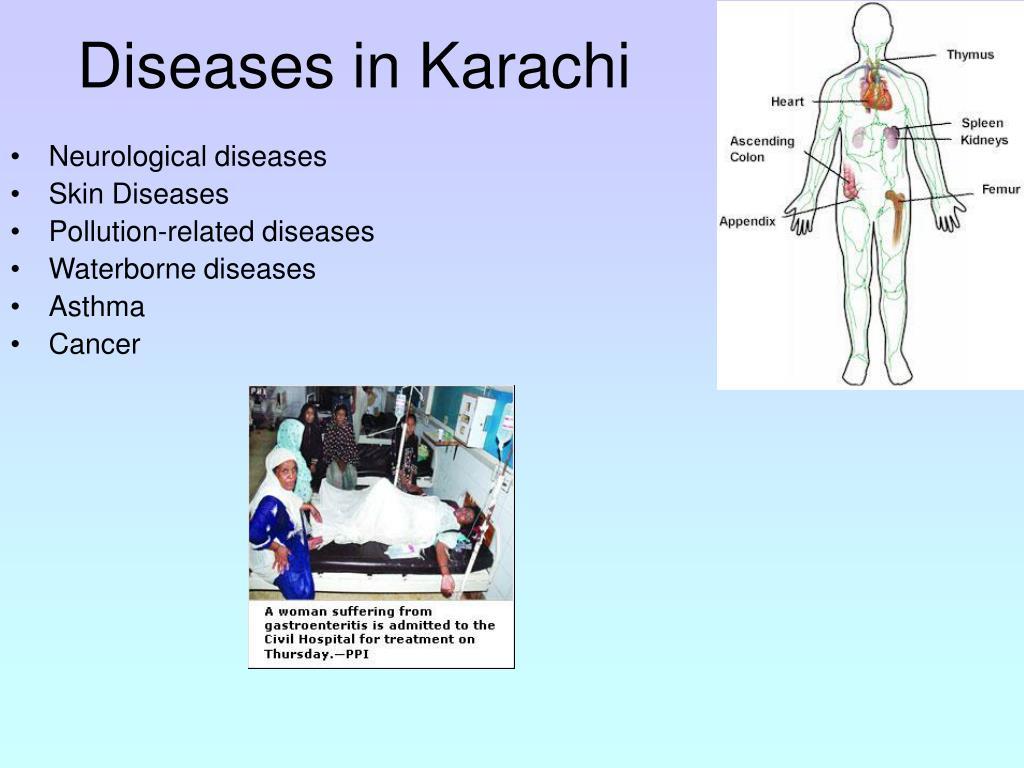Diseases in Karachi