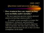 1992 1997 questions and answers abound32