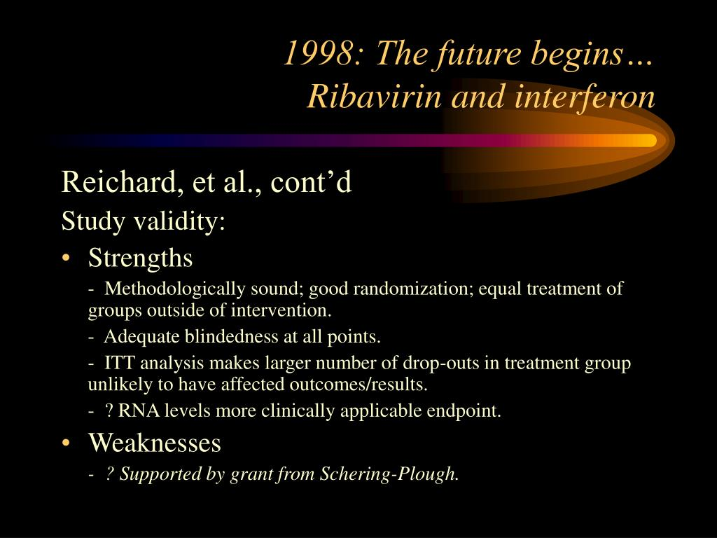1998: The future begins…