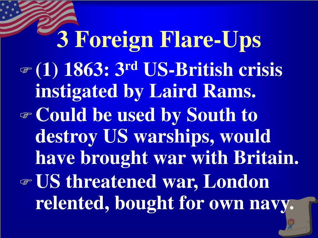 3 Foreign Flare-Ups