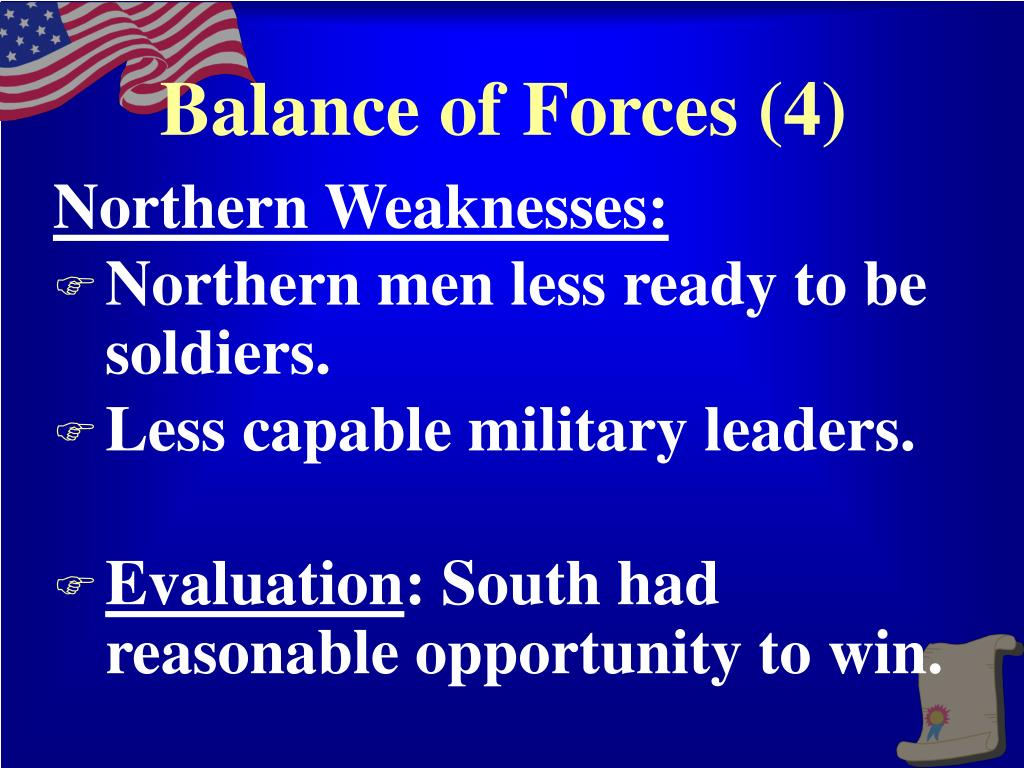 Balance of Forces (4)