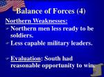 balance of forces 4