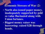 economic stresses of war 2