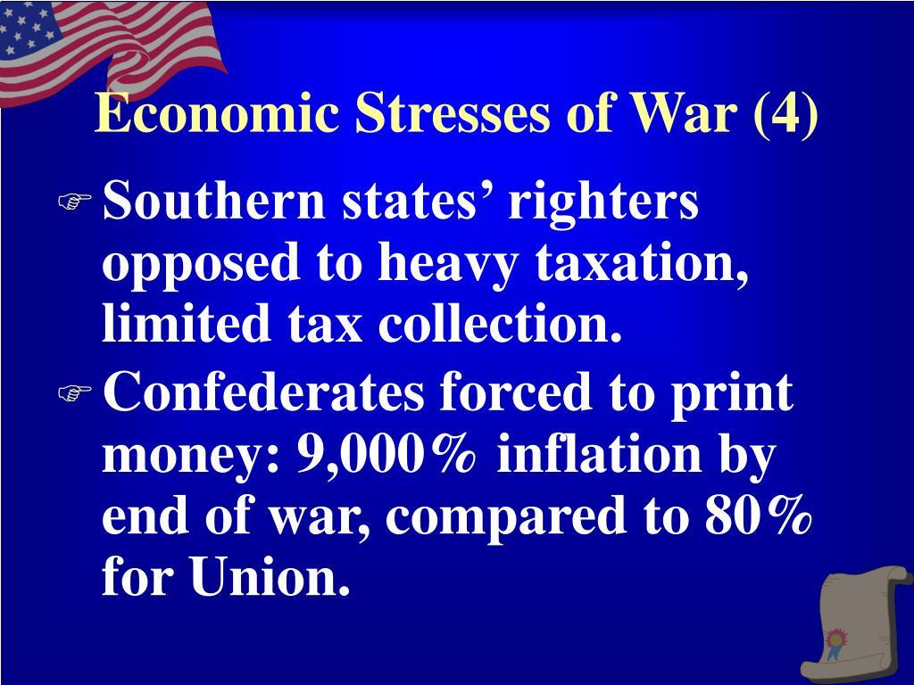 Economic Stresses of War (4)