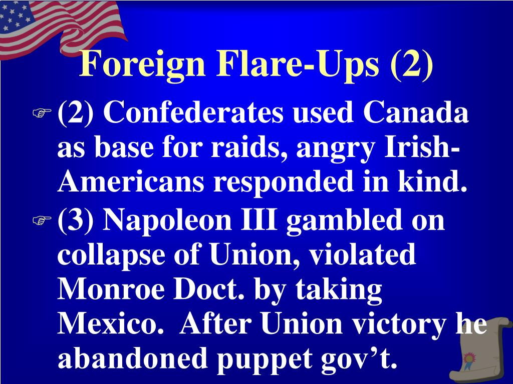 Foreign Flare-Ups (2)