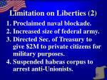 limitation on liberties 2