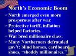 north s economic boom