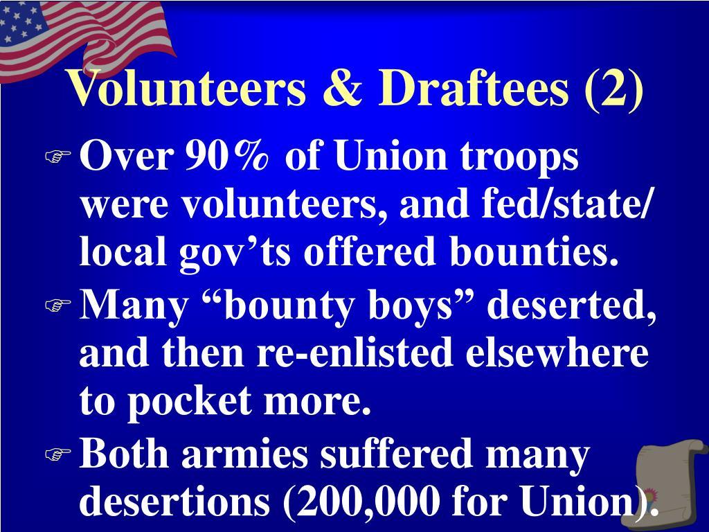 Volunteers & Draftees (2)
