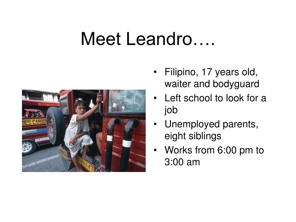Meet Leandro….
