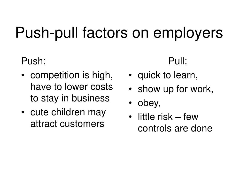 Push: