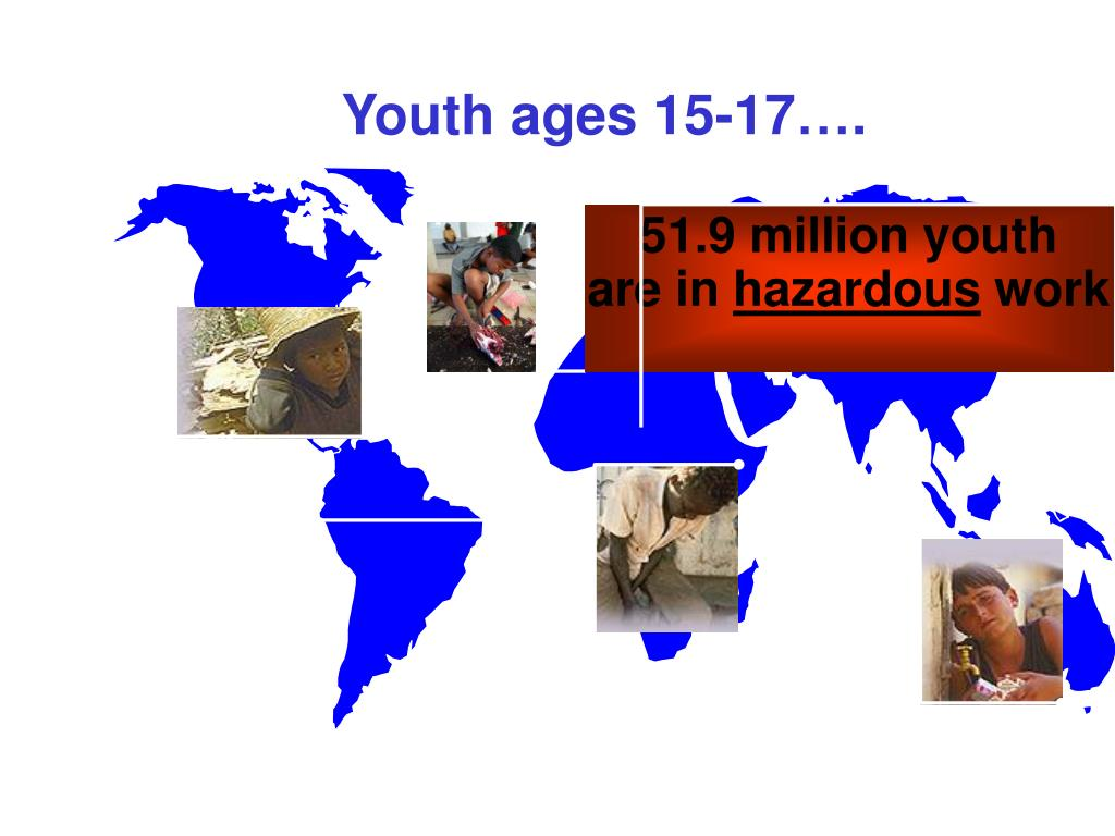 Youth ages 15-17….