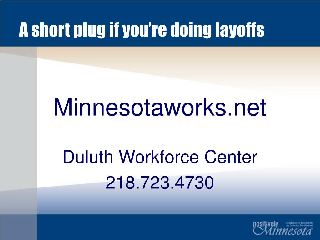 A short plug if you're doing layoffs