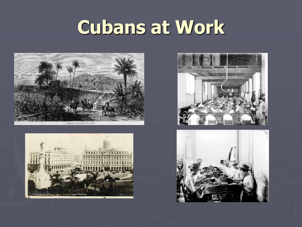 Cubans at Work