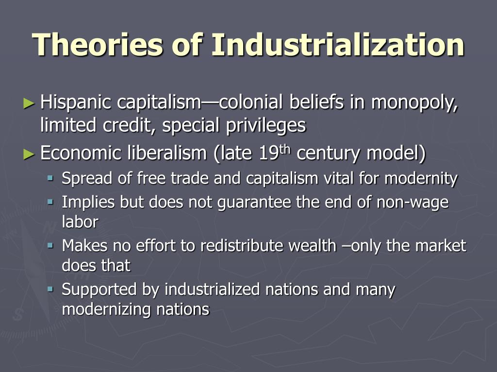 Theories of Industrialization