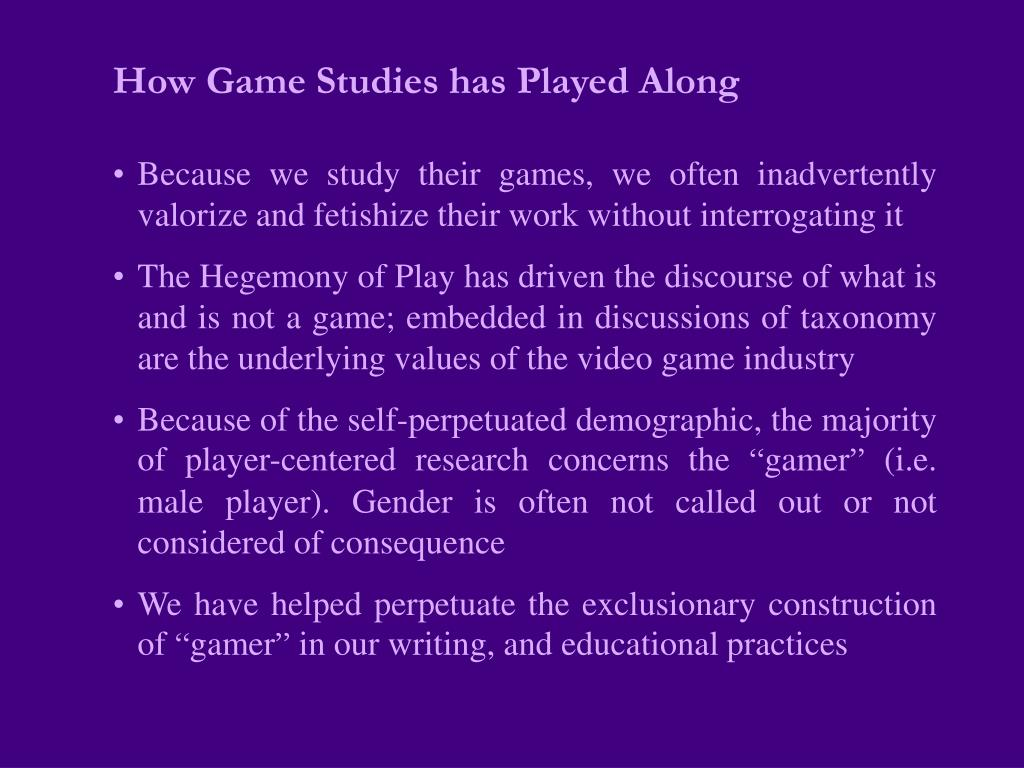 How Game Studies has Played Along
