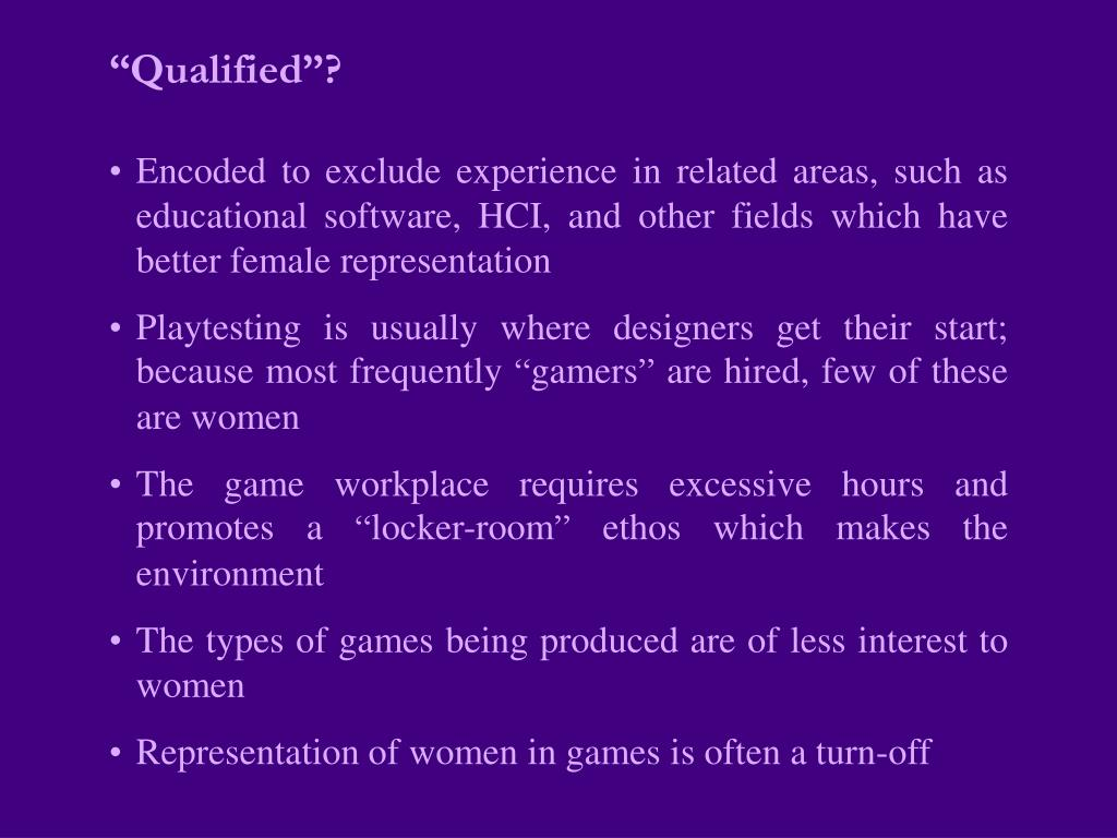 """""""Qualified""""?"""