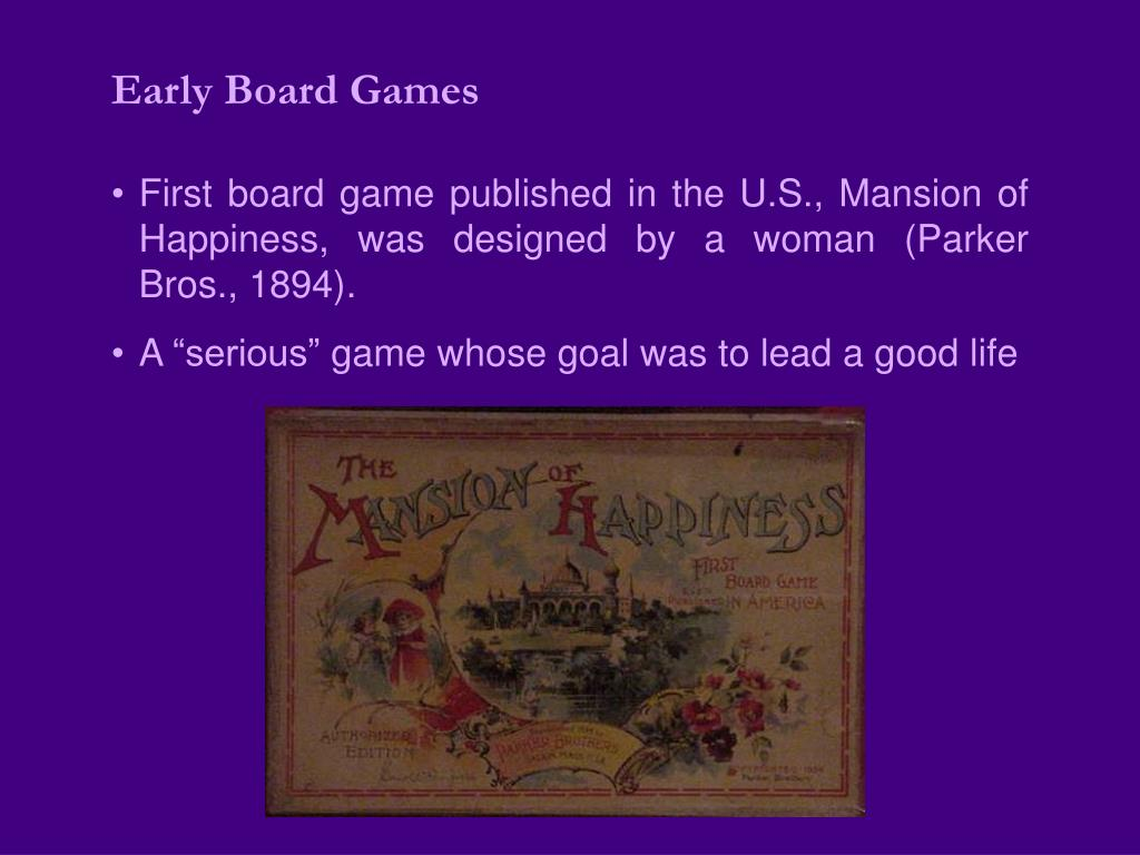 Early Board Games