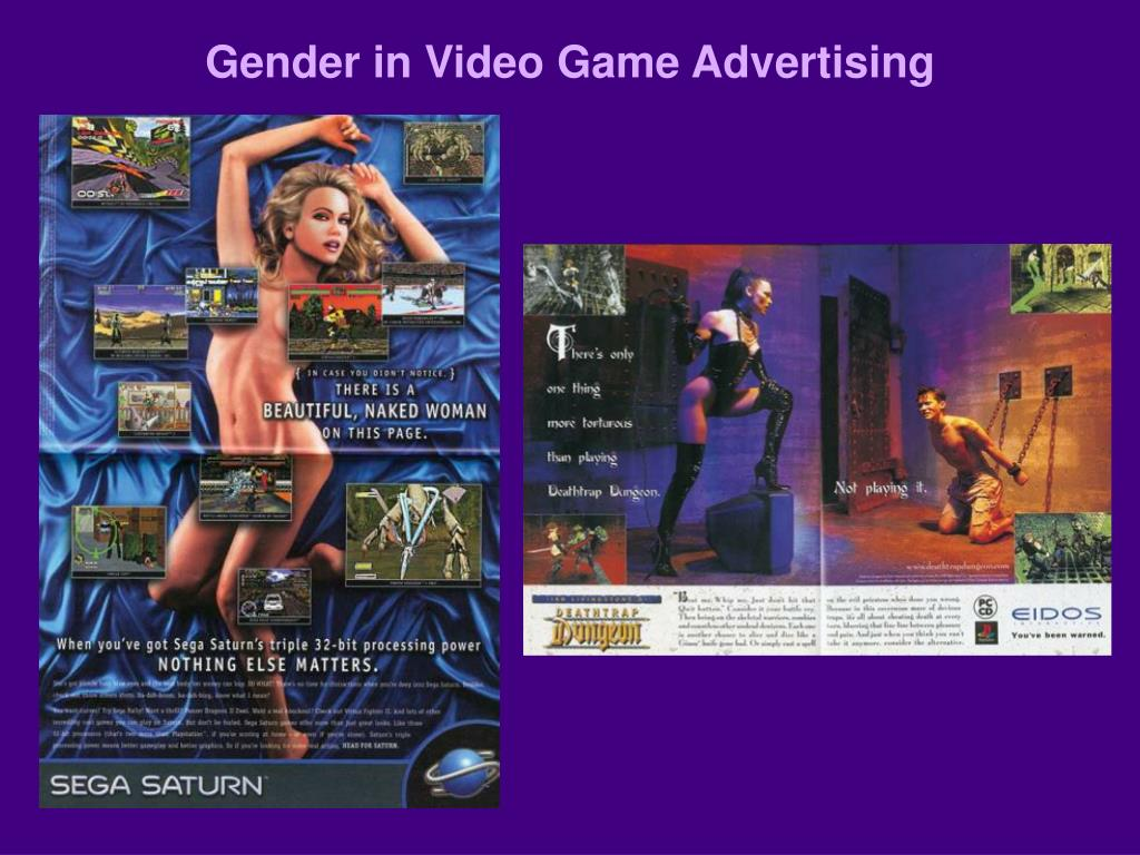 Gender in Video Game Advertising