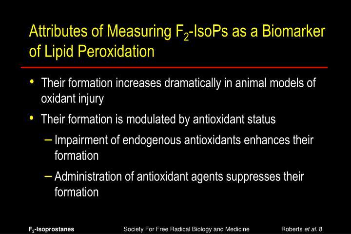 Attributes of Measuring F