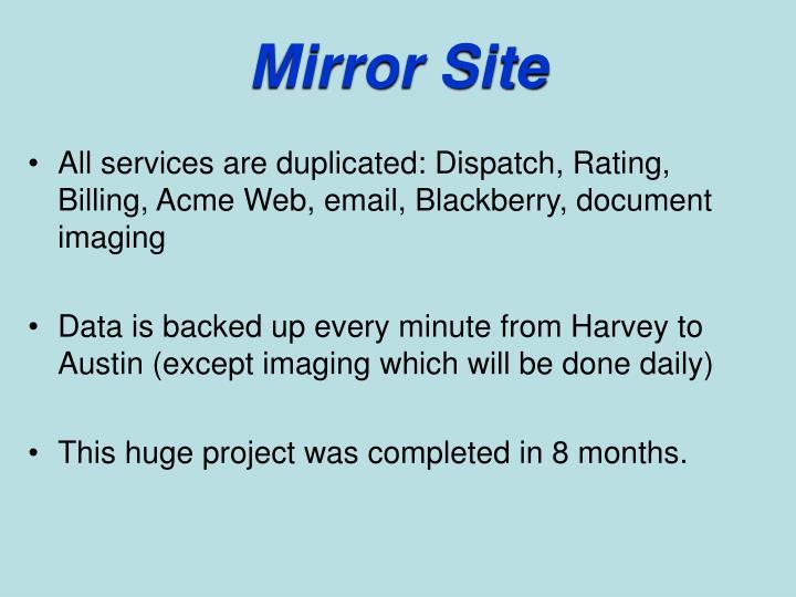 Mirror Site
