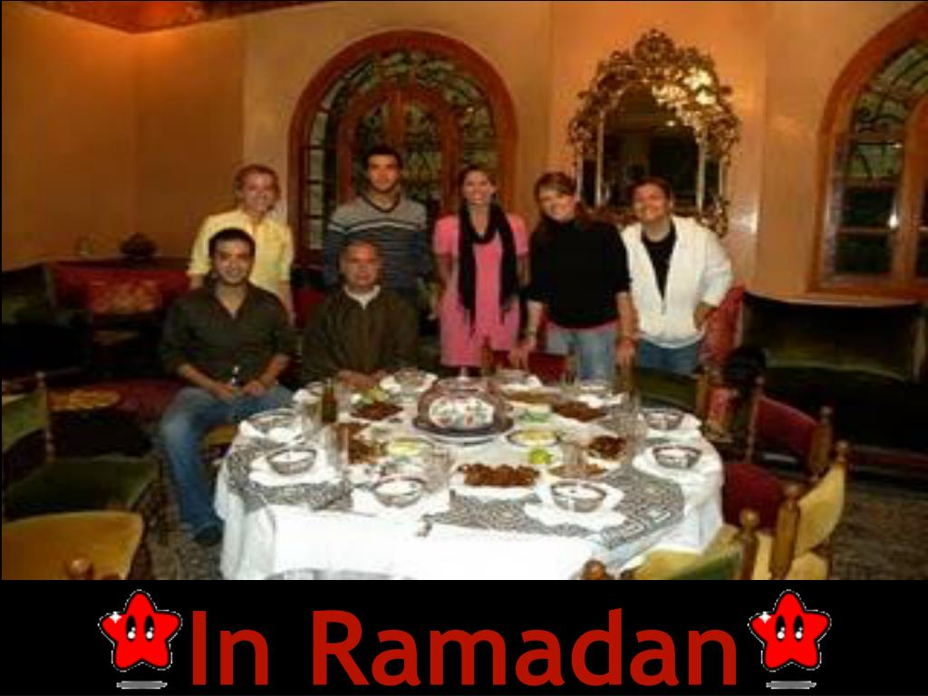 In Ramadan