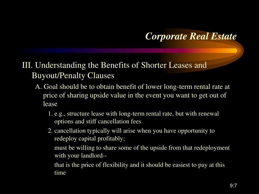 Corporate Real Estate