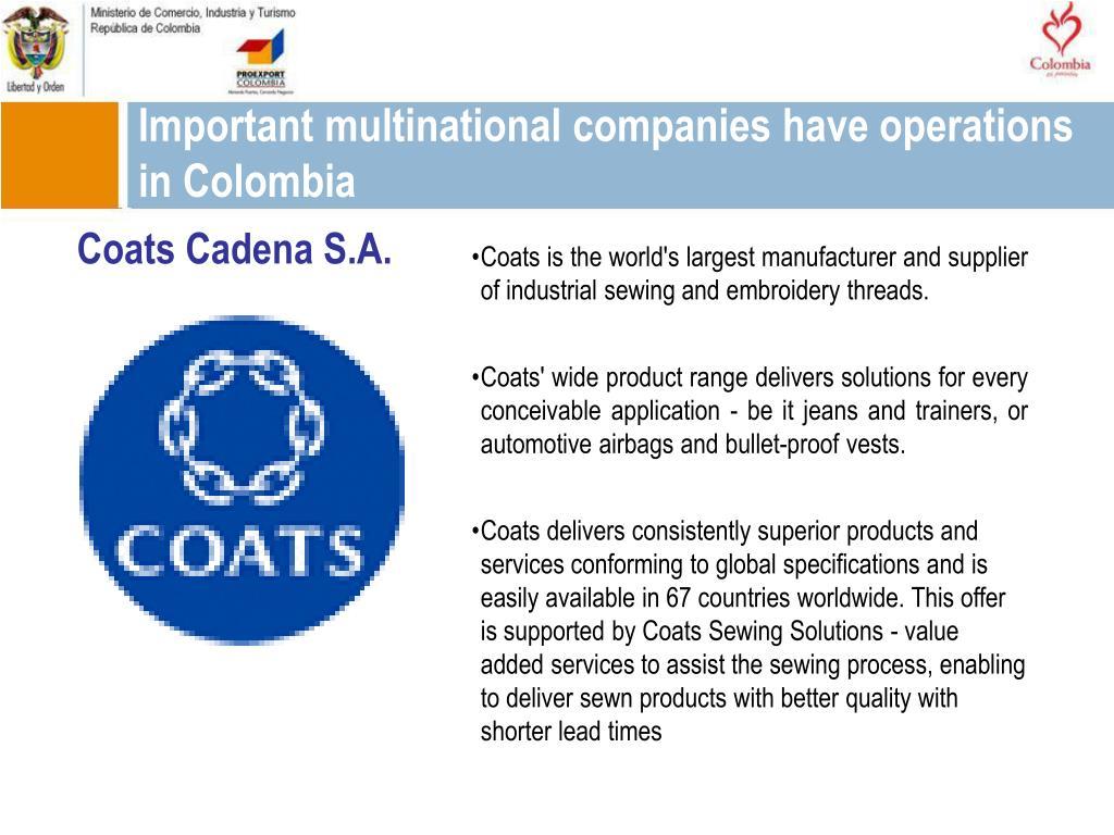 Coats Cadena S.A.