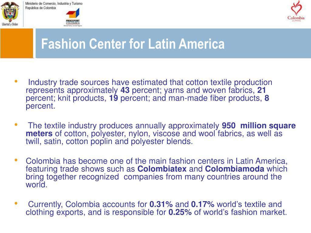 Fashion Center for Latin America