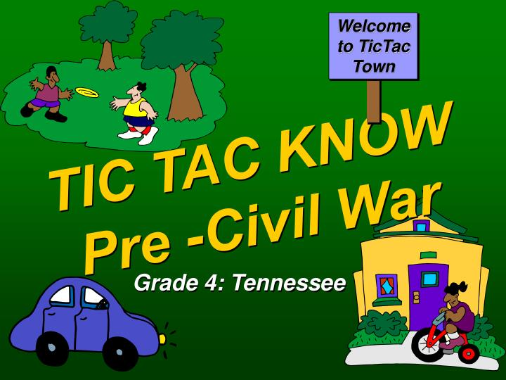 Welcome to TicTac Town